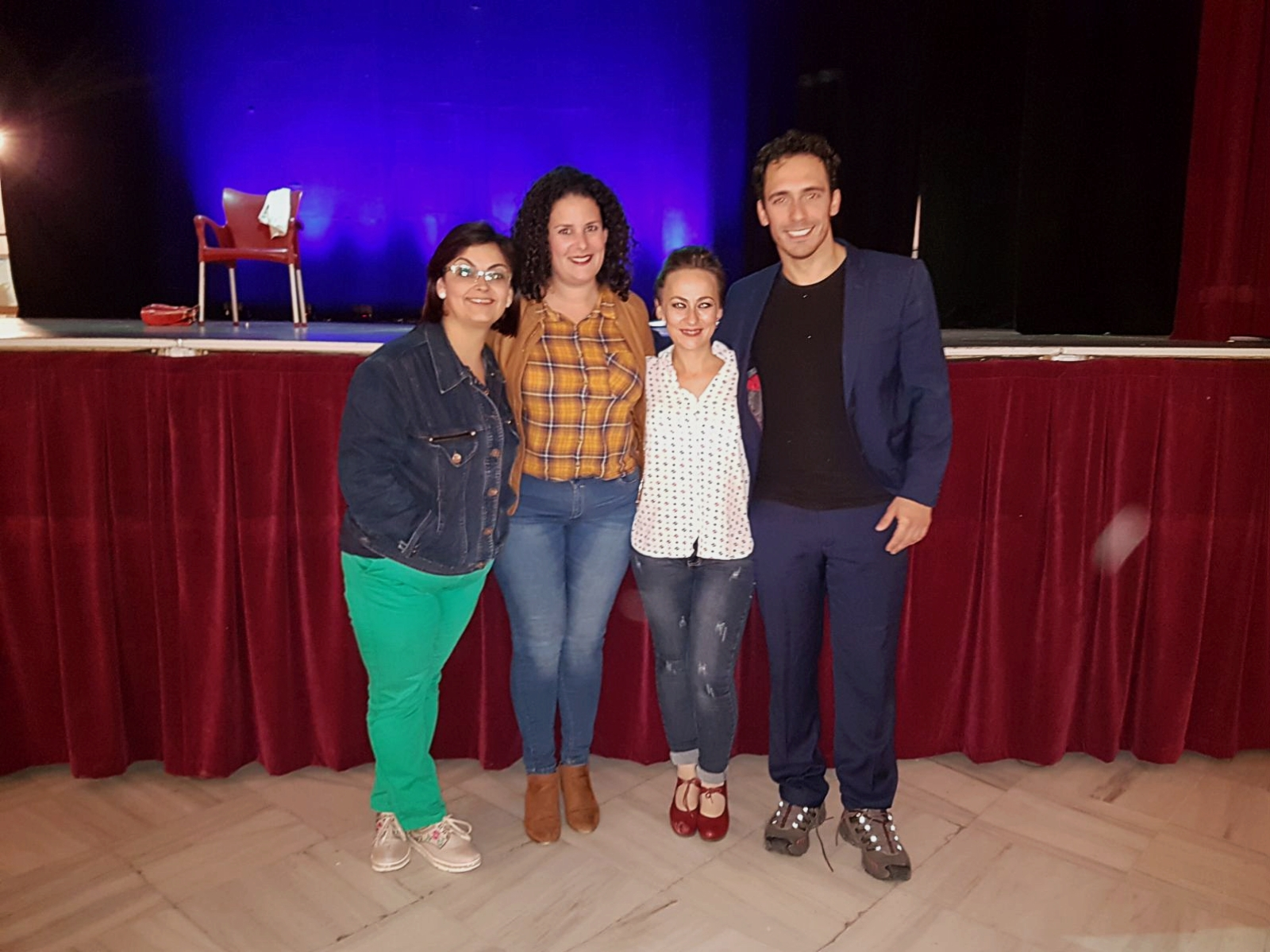 Mojácar's theatre season, organised by the Council's Culture Department, is drawing to a close with the penultimate play,